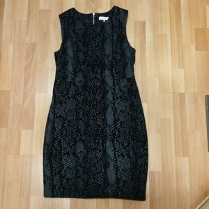 Calvin Klein Black Sleeveless Dress,  Size 14